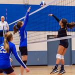 2018-09-18 Dixie HS Volleyvall vs Desert Hills_0666