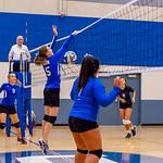 2018-09-18 Dixie HS Volleyball vs Desert Hills_0558