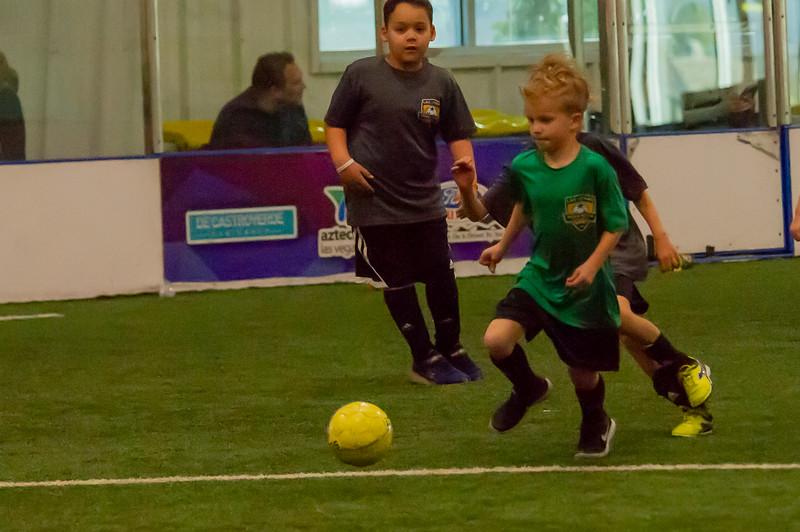 2018-11-17 Walker Playing Indoor Soccer_0078