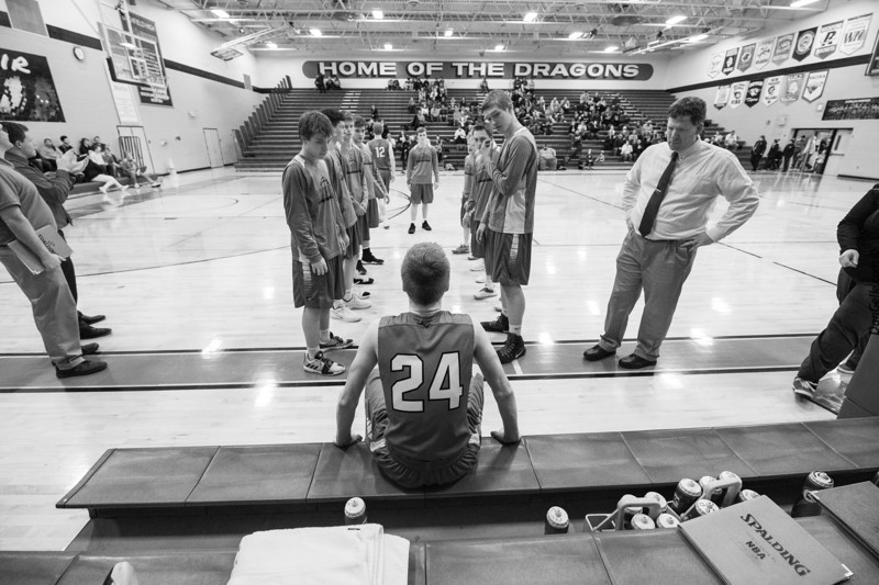 Dragon Boys Basketball vs Kimbal Cubs