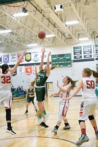Dragon Girls Basketball vs Osakis