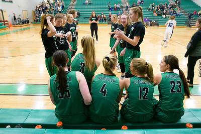 Dragons Girls Basketball vs GSL
