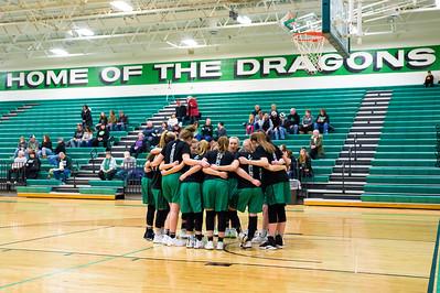 Dragons Girls Basketball vs Benson