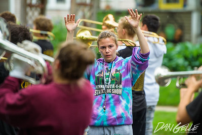 Marching Dragons at Lake Waconia Band Festival