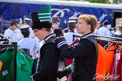 Litchfield Marching Dragons at Rosefest Parade