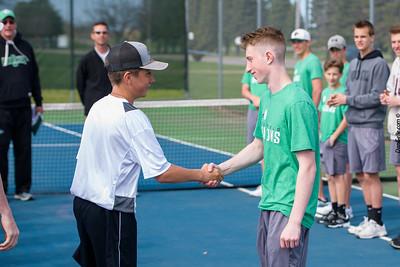 Dragons Boys Tennis vs NLS