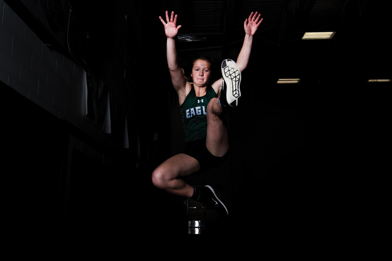 Matthew Gaston | The Sheridan Press<br>Tongue River High School's Carleigh Reish is this years Spring athlete of the year Wednesday, May 22, 2019.