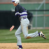 4-18-18<br /> Northwestern vs Western baseball<br /> NW's Ben Harris runs to third.<br /> Kelly Lafferty Gerber | Kokomo Tribune
