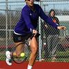 4-19-18<br /> Northwestern girls tennis<br /> 1 doubles Sarah Vas<br /> Kelly Lafferty Gerber | Kokomo Tribune