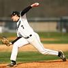 4-18-18<br /> Northwestern vs Western baseball<br /> Western's Conner Linn pitches.<br /> Kelly Lafferty Gerber | Kokomo Tribune