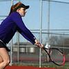 4-19-18<br /> Northwestern girls tennis<br /> 1 doubles Klair Merrell<br /> Kelly Lafferty Gerber | Kokomo Tribune