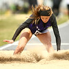 4-28-18<br /> Kokomo Relays<br /> NW's Hope Braun in the girls long jump.<br /> Kelly Lafferty Gerber | Kokomo Tribune