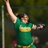 4-26-18<br /> Eastern vs Rossville softball<br /> Hayden Helton pitches.<br /> Kelly Lafferty Gerber | Kokomo Tribune