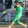 4-26-18<br /> Eastern vs Rossville softball<br /> Hope Smith bats.<br /> Kelly Lafferty Gerber | Kokomo Tribune