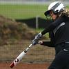 4-17-18<br /> Northwestern vs Western softball<br /> NW's Ellie Boyer bats.<br /> Kelly Lafferty Gerber