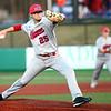 4-20-18<br /> Kokomo vs Western baseball<br /> Kokomo's Nate Hemmerich pitches.<br /> Kelly Lafferty Gerber | Kokomo Tribune