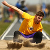 4-28-18<br /> Kokomo Relays<br /> NW's Joe Johns in the boys long jump.<br /> Kelly Lafferty Gerber | Kokomo Tribune