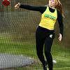4-21-18<br /> Eastern Relays<br /> Hailey Holliday in the discus.<br /> Kelly Lafferty Gerber | Kokomo Tribune