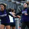 4-24-18<br /> Northwestern Relays<br /> NW's JoHannah Hetzner passes the baton off to Hope Braun in the girls 4x400 relay.<br /> Kelly Lafferty Gerber | Kokomo Tribune