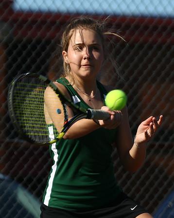 4-25-18<br /> Eastern girls tennis<br /> 1 singles Casey Clark<br /> Kelly Lafferty Gerber | Kokomo Tribune