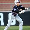 4-18-18<br /> Northwestern vs Western baseball<br /> NW's A.J. Hobson bunts.<br /> Kelly Lafferty Gerber | Kokomo Tribune