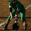 4-26-18<br /> Eastern vs Rossville softball<br /> Rylie Davison scoops up the ball.<br /> Kelly Lafferty Gerber | Kokomo Tribune