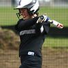 4-17-18<br /> Northwestern vs Western softball<br /> NW's Madison Walker bats.<br /> Kelly Lafferty Gerber | Kokomo Tribune