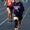 4-24-18<br /> Northwestern Relays<br /> NW's Joan Easter in the 4x400 relay.<br /> Kelly Lafferty Gerber   Kokomo Tribune