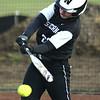 4-17-18<br /> Northwestern vs Western softball<br /> Western's Sadie Harding bats.<br /> Kelly Lafferty Gerber | Kokomo Tribune
