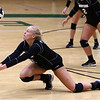 8-22-18<br /> Eastern vs Western volleyball<br /> Western's Hilary Merica makes a dig.<br /> Kelly Lafferty Gerber | Kokomo Tribune