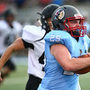 8-17-18<br /> Maconaquah vs North Miami football<br /> Jared Blake runs the ball.<br /> Kelly Lafferty Gerber | Kokomo Tribune