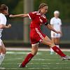 8-29-18<br /> Taylor vs Peru girls soccer<br /> Taylor's Katlynn Sandefur takes control of the ball.<br /> Kelly Lafferty Gerber   Kokomo Tribune