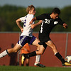 8-28-18<br /> Western vs Northwestern boys soccer<br /> Western's Logan Boyer and NW's Jackson Hale.<br /> Kelly Lafferty Gerber | Kokomo Tribune