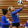 8-21-18<br /> Kokomo vs Eastern volleyball<br /> Kokomo's Adria Hartley.<br /> Kelly Lafferty Gerber | Kokomo Tribune