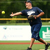 Kokomo Police Department defeats the Kokomo Fire Department 8-7 in the Military Foundation charity softball game on Saturday, August 18, 2018.<br /> Kelly Lafferty Gerber | Kokomo Tribune