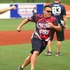 Kokomo Police Department defeats the Kokomo Fire Department 8-7 in the Military Foundation charity softball game on Saturday, August 18, 2018.<br /> Kelly Lafferty Gerber | Kokomo Tribune