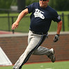 Heath Haalck books it to home for the KPD. Kokomo Police Department defeated the Kokomo Fire Department 8-7 in the Military Foundation charity softball game on Saturday, August 18, 2018.<br /> Kelly Lafferty Gerber | Kokomo Tribune