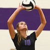 8-16-18<br /> Northwestern vs Logansport volleyball<br /> Kendal Rooze sets the ball.<br /> Kelly Lafferty Gerber | Kokomo Tribune