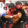 8-24-18<br /> Taylor vs Tri Central football<br /> <br /> Kelly Lafferty Gerber   Kokomo Tribune