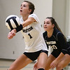 8-22-18<br /> Eastern vs Western volleyball<br /> Western's Halle Rezo goes for a dig.<br /> Kelly Lafferty Gerber | Kokomo Tribune