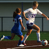 8-23-18<br /> Northwestern vs Kokomo girls soccer<br /> NW's Hope Braun.<br /> Kelly Lafferty Gerber | Kokomo Tribune