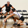 8-16-18<br /> Northwestern vs Logansport volleyball<br /> Libero Catelyn Wilson goes after the ball.<br /> Kelly Lafferty Gerber | Kokomo Tribune