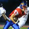 8-31-18<br /> Kokomo vs Marion football<br /> Kokomo's Noah Cameron runs the ball.<br /> Kelly Lafferty Gerber   Kokomo Tribune