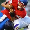 8-31-18<br /> Kokomo vs Marion football<br /> Levi Hrabos carries the ball.<br /> Kelly Lafferty Gerber   Kokomo Tribune
