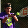 8-30-18<br /> Northwestern boys tennis<br /> 2 singles Adam Morrow<br /> Kelly Lafferty Gerber   Kokomo Tribune