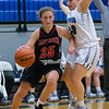 Makenna Siever cuts in towards the basket