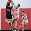 Tyler Nickel blocks a shot from Gap's Cameron Lyle
