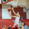 Dalton Jefferson goes in for a layup