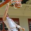 Tyler Nickel gets the dunk