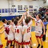 The Eagles hoist the region trophy up